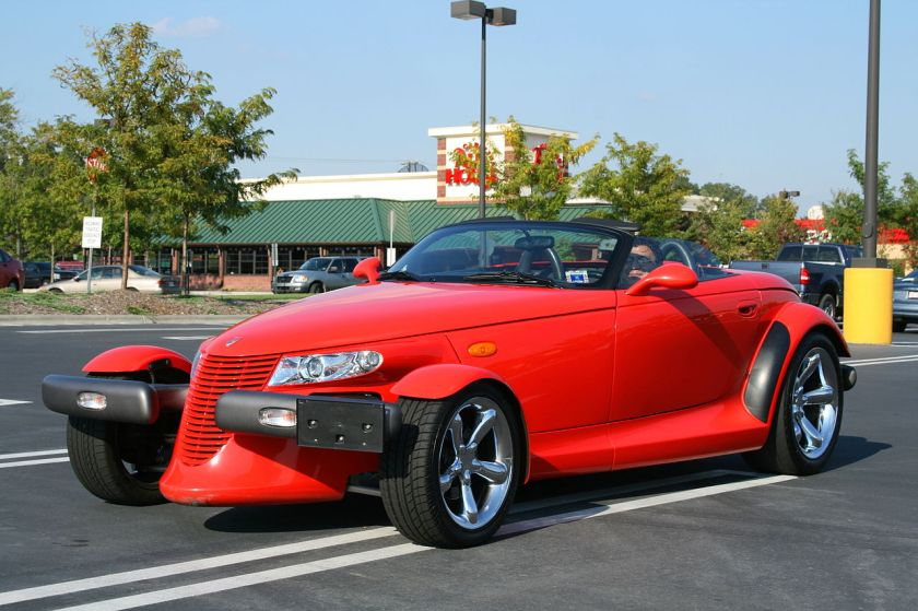 1999-01 Plymouth Prowler and the 2001-02 Chrysler Prowler