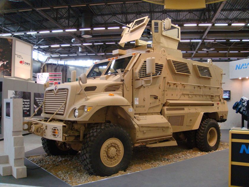2007-present International MaxxPro MRAP