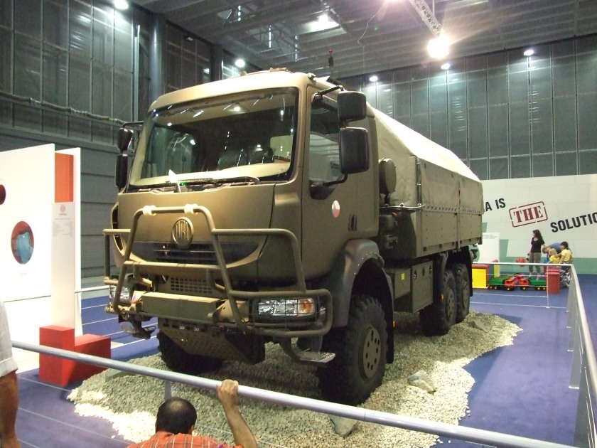 2008 Tatra T810 truck for Czech army