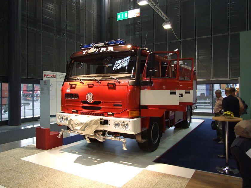 2008 Tatra T815 TERRN°1 4x4 fire engine
