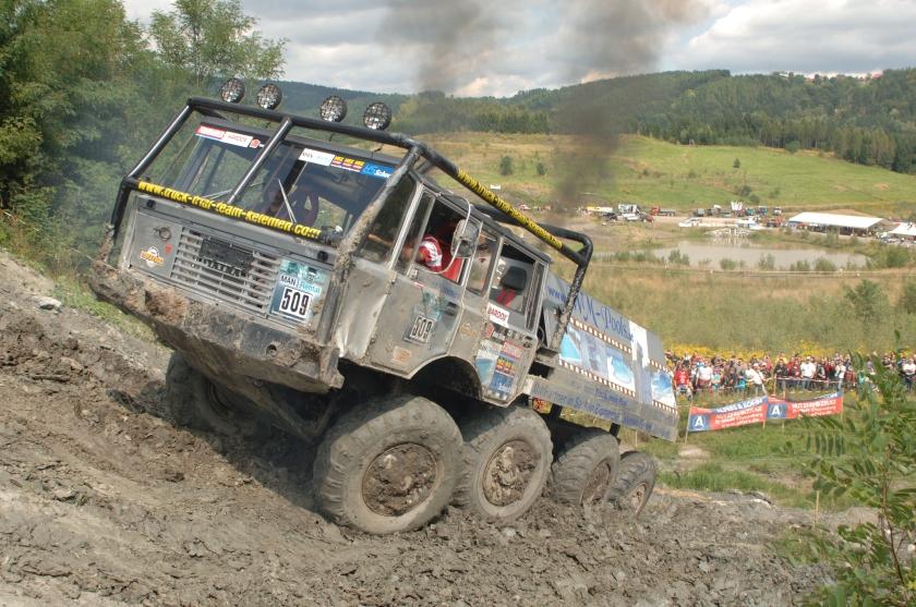 2010 Tatra 813 truck trial voitsberg