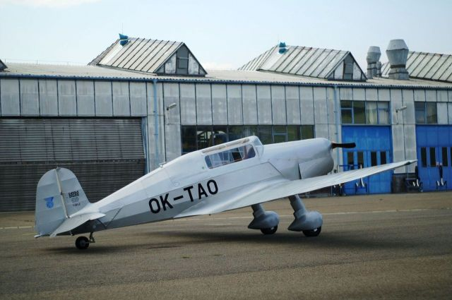 Aircraft Tatra 101.2 (OK-TAO) on Airport in Kunovice, Czech republic