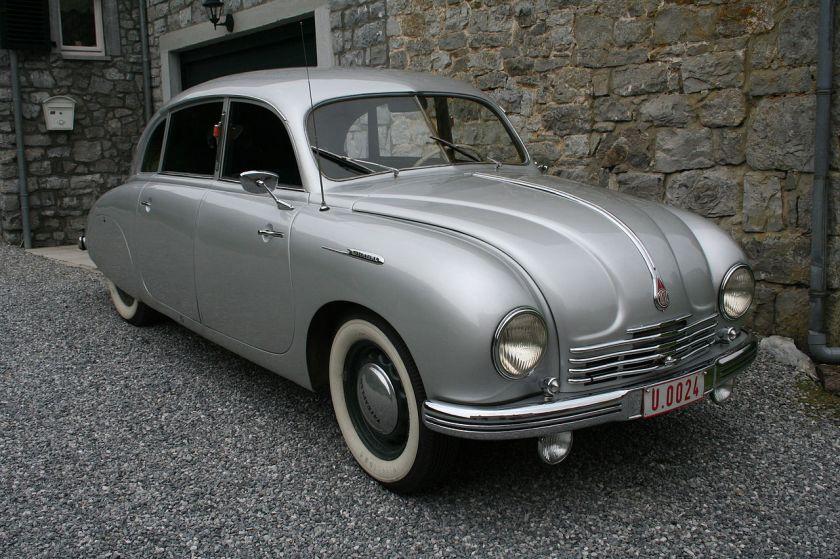 Automobile Tatra T-600 Tatraplan
