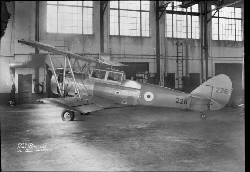 Avro 626 Mikan of Royal Canadian Air Force