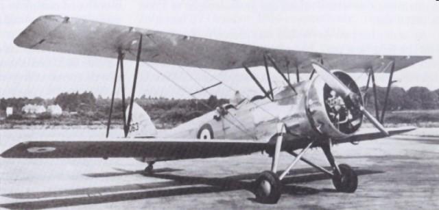 Avro RAF 626 Prefect K5063 at Martlesham, July 1935