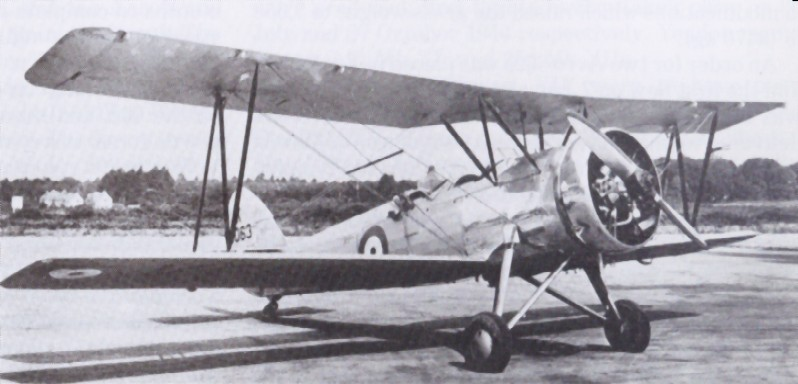 Avro RAF 626 Prefect K5063 at Martlesham, July 1935