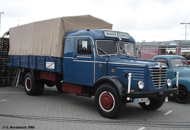 Büssing 6000 Pritschen-Lkw