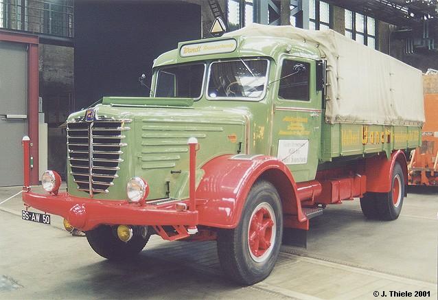 Büssing 8000 S Pritschen-Lkw