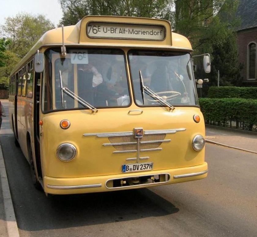 Büssing Bus als Linie