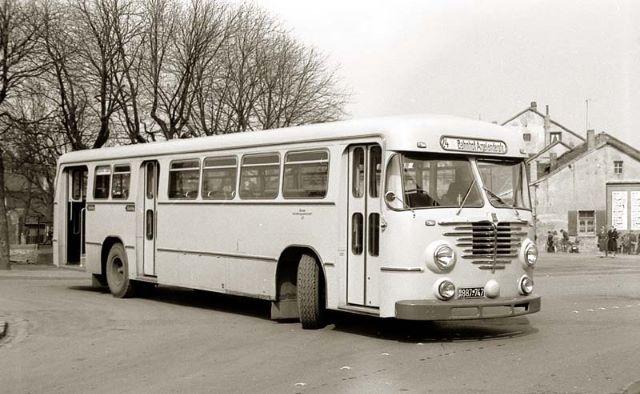 Büssing Bus Nr. 43 (Typ 6000T) mit Elzer Aufbau