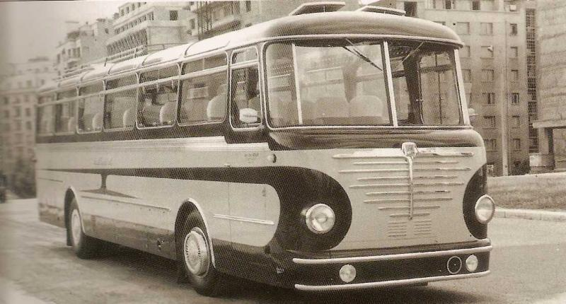 BÜSSING carrossé par BELLE-CLOT de Grenoble (1956)