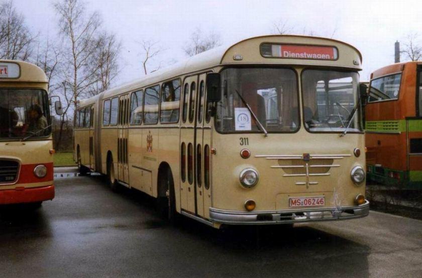 Büssing Emmelmann 14 RU 11 D, Wagen 311 der Stadtwerke Münster