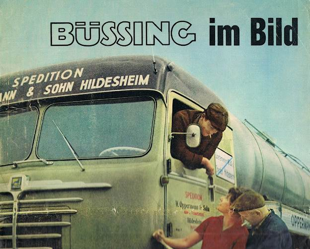 BÜSSING lastwagens