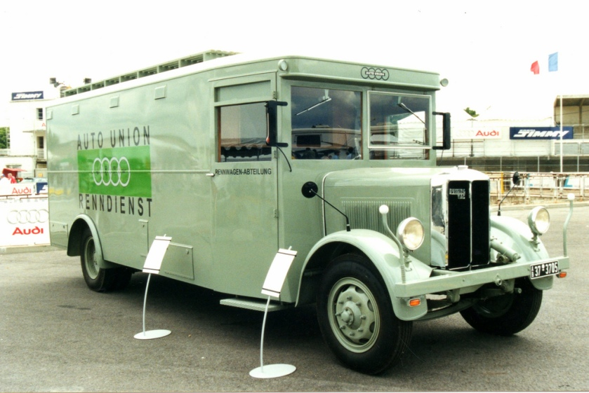 BÜSSING LKW Auto Union Renndienst