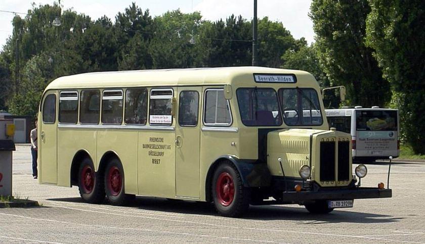 Büssing Rheinbahn Museumswagen 8927