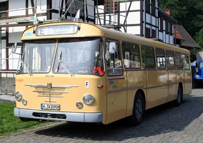 Büssing Senator Bus in Hagen 2007