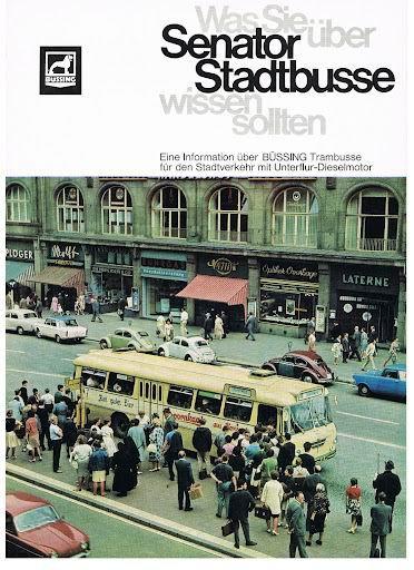 BÜSSING Senator Stadtbusse