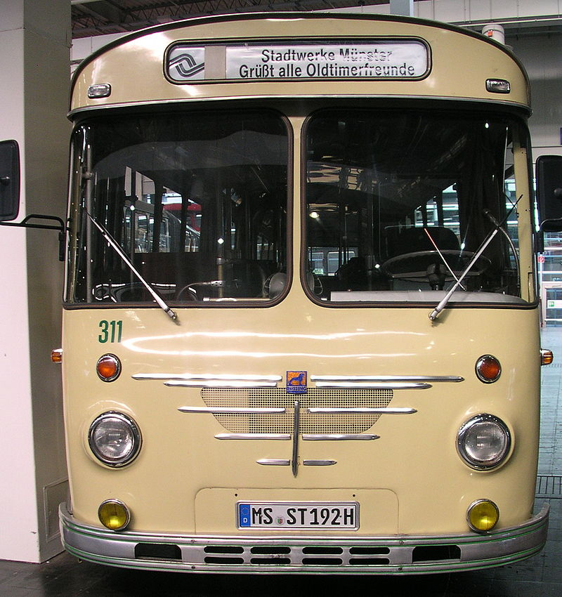 Büssing Stadtbus Münster