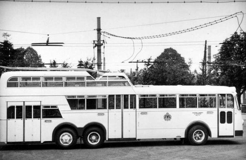 Büssing Trolleybus Osnabruck D