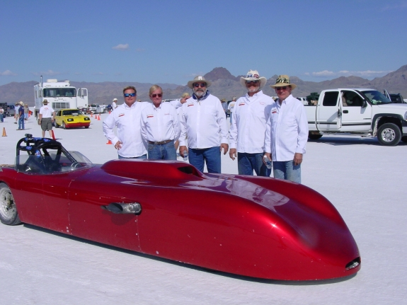 Bonner's Bad Berkeley, Salt Flats, speedweek, bonneville, fwd, 1959 Berkeley 310miles p-h