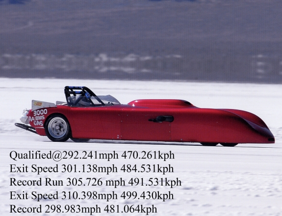 Bonneville Salt Flats 310 MPH Berkeley