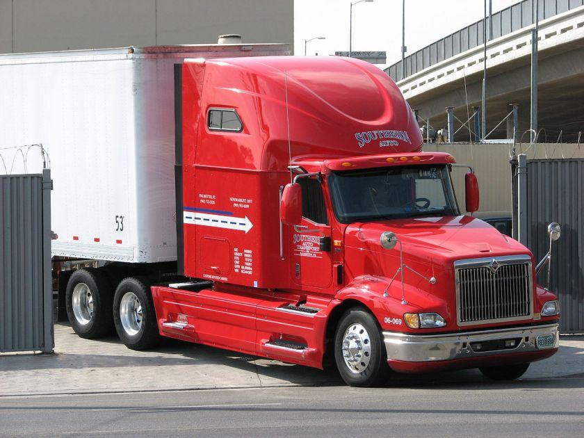 International 9400i Red