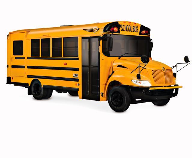 International BE SERIES SCHOOL ROUTE BUS
