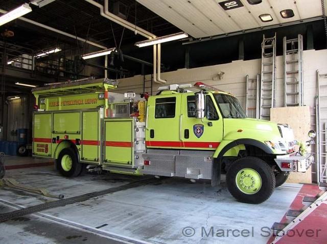 international Engine Rescue 5 Fairbanks Airport Fire dept