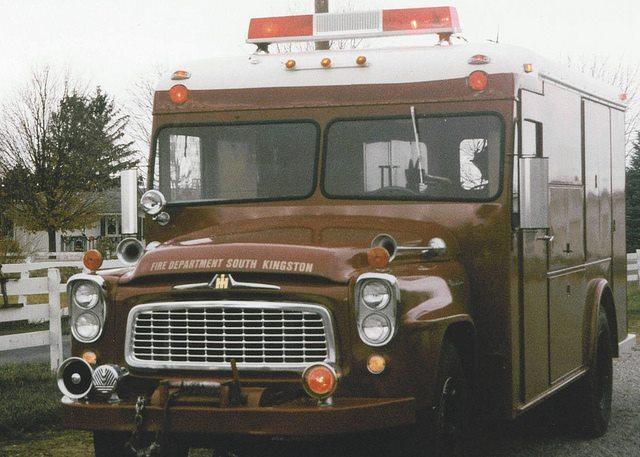 International Harvester Emergency Fire Truck a
