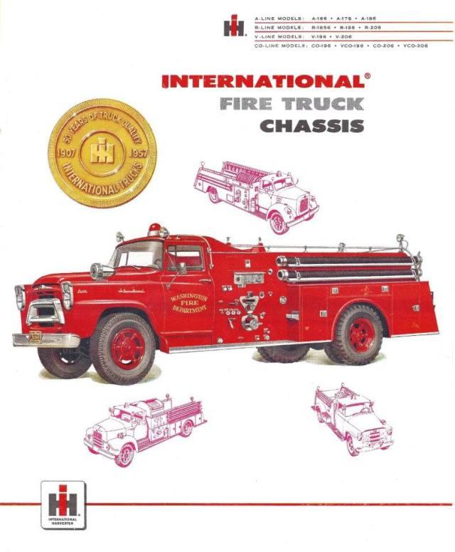 International Harvester Emergency Fire Truck