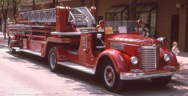 International Harvester Fire Truck +