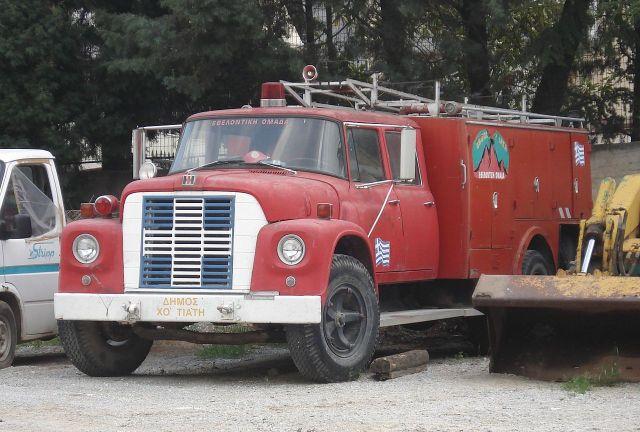 INTERNATIONAL HARVESTER loadstar as an airport fire GREECE TRUCK