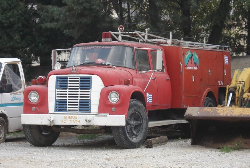 INTERNATIONAL HARVESTER loadstar as an airport fire GREECE TRUCK