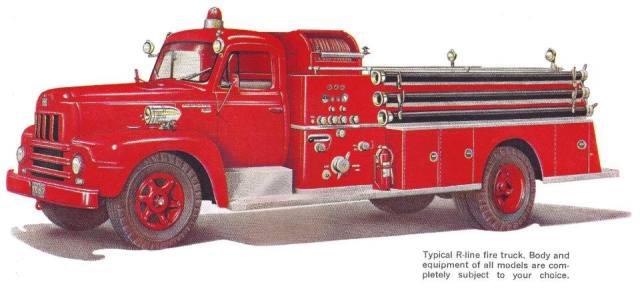 International Harvester R line Fire Truck