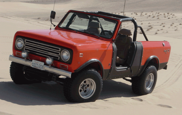 International Harvester Scout with the SSII package