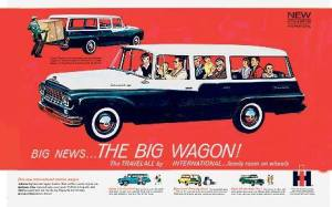 International Harvester The Big Wagon Ad