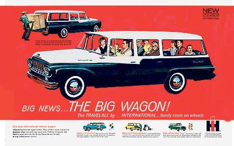 International Harvester The Big Wagon Ad