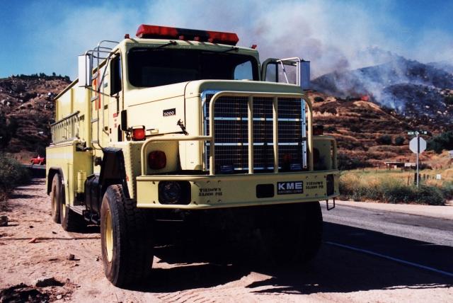 International PayStar Fire engine in California
