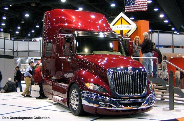 International ProStar at Mid America truck show