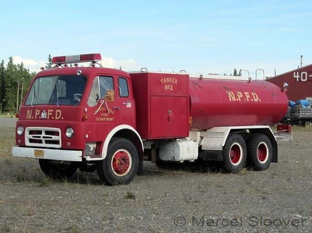 International tanker old North Pole Fire dept