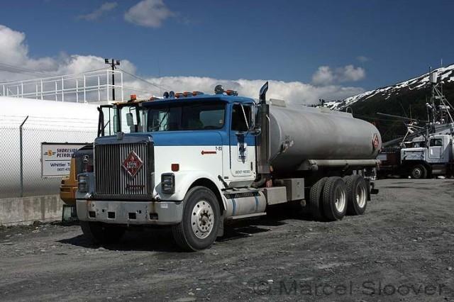 International truck in Whittier, Alaska