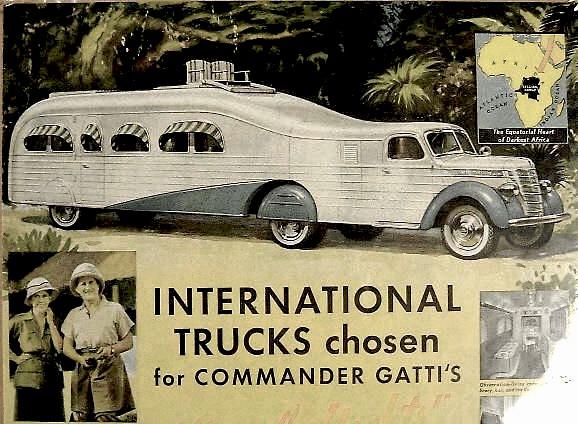 International Trucks for Commander Gatti
