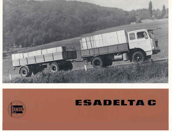 Lancia Esadelta C catalog