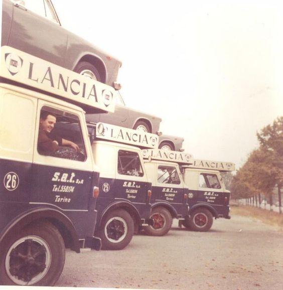 Lancia Esadelta Portauto cartransporters