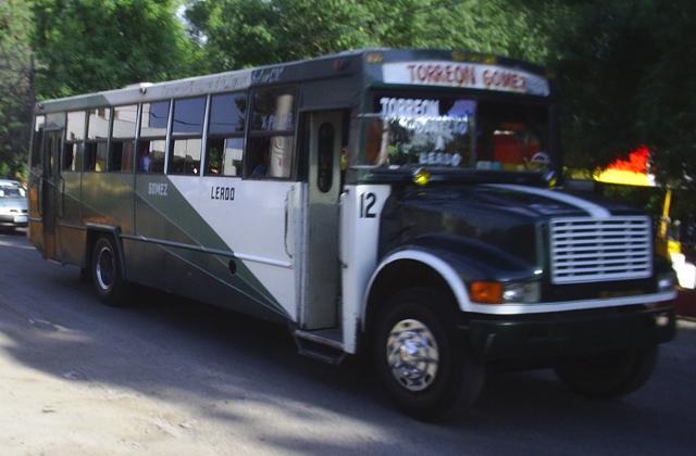 Navistar International bus in Mexico TMoctezuma12