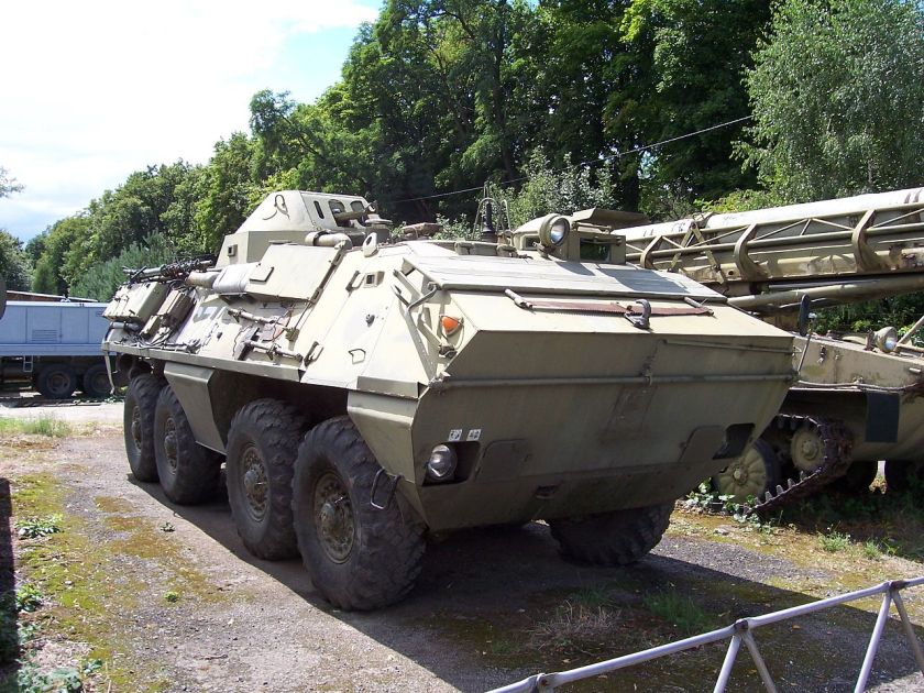 OT-64 SKOT at Airforce Museum in Brno, Czech republic