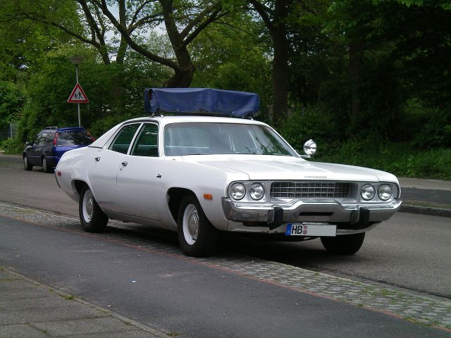 Plymouth Satellite front policecar