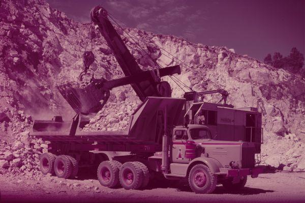 Riverside Cement's International Truck