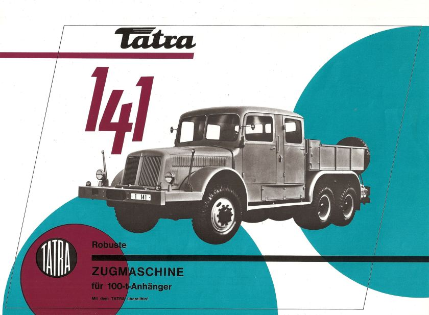 Tatra 141 01