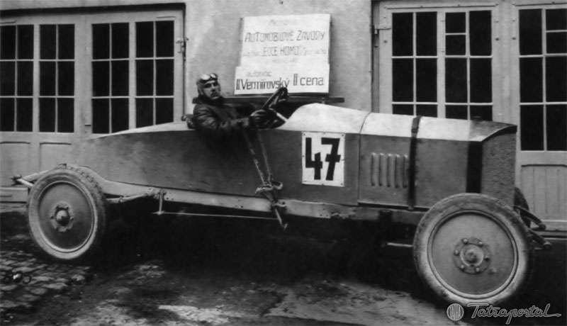 Tatra 20 as a racecar